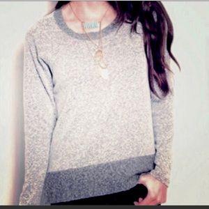 Promesa Gray Long Sleeve Sweatshirt Tee NWOT